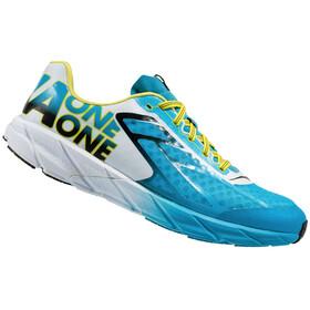 Hoka One One M's Tracer Shoes Cyan/Black